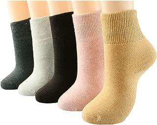 Womens socks cotton girls thickened socks winter snow crew