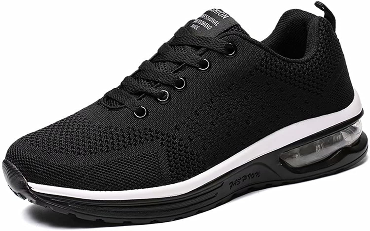 JIAWA Mens Sports Running shoes Womens Cushion Lightweight Athletic Sneakers