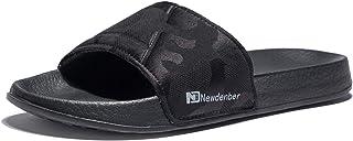 NewDenBer NDB Men's Slide EVA Open Toe Sandals
