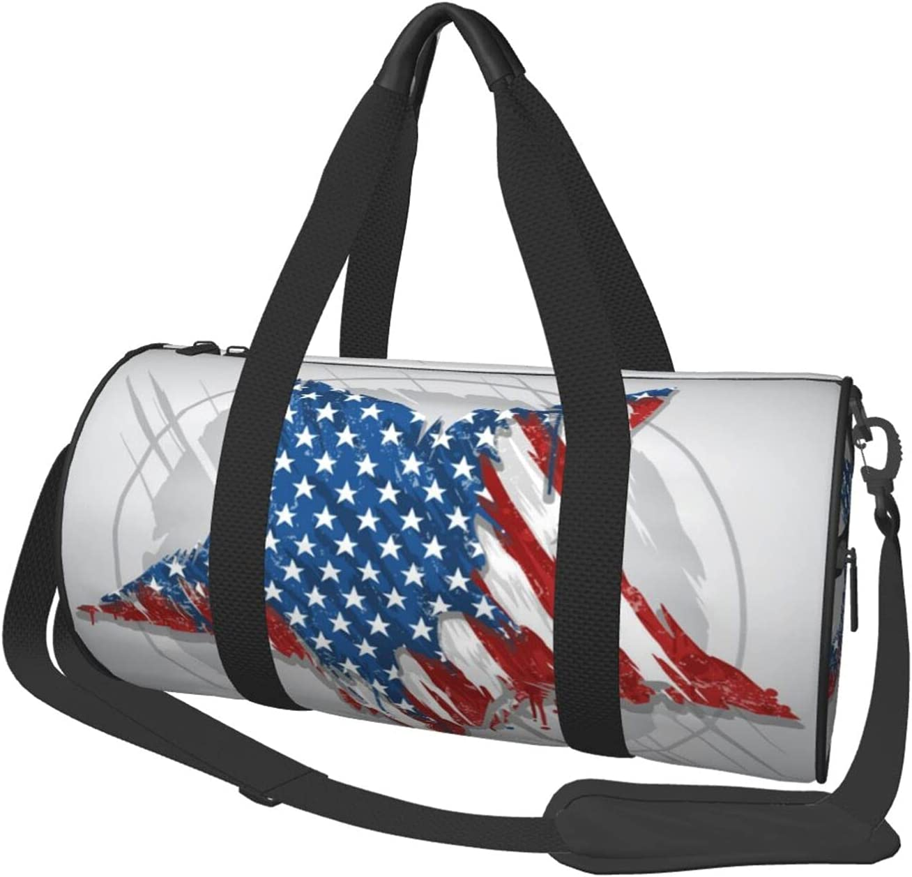 Kimisoy Gym Minneapolis Mall Selling rankings Duffel Bag Star Abstract Sports Flag America Usa