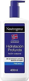 Neutrogena Crema Hidratante Corporal, Hidratación Profunda, 400 ml