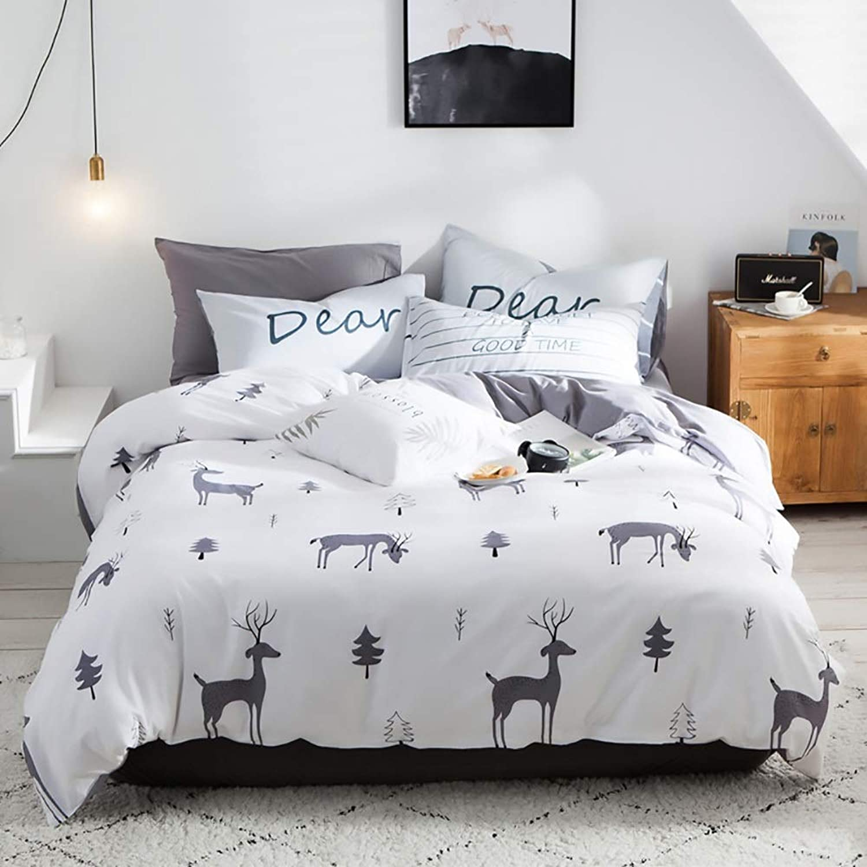 La Mode Taie D'oreiller 100% Coton, Literie, Ensemble De Quatre Pièces, Ensemble De Trois Pièces, Armure Sergé Te faire bien dormir (Taille   220  240cm)