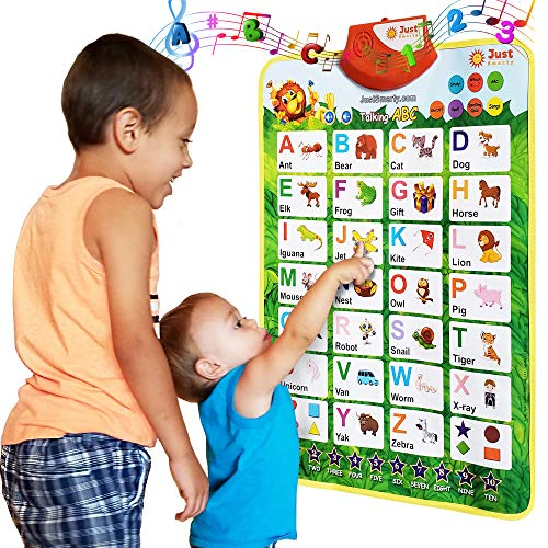 Just Smarty Interactive Alphabet Learning Poster, Green