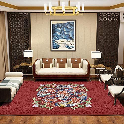 Alfombra Suelo Escritorio Rojo Alfombras Juveniles Para Dormitorio Moderno salón minimalista sala de estar dormitorio Corredor alojado almohadilla almohadilla almohadilla decoración alfombra Alfombras