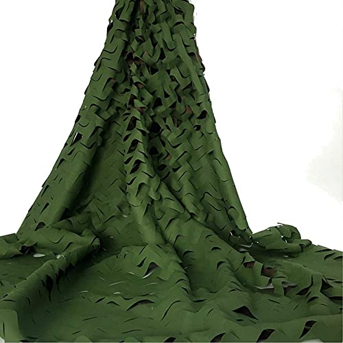 HAIZHEN Filet Camouflage vert Filet Wood Camo Filet 210 Oxford Sunscreen Tissu Armée Imperméable (Couleur   A, taille   4×9m)