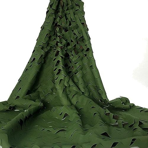 HAIZHEN Filet Camouflage vert Filet Wood Camo Filet 210 Oxford Sunscreen Tissu Armée Imperméable (Couleur   A, taille   5×9m)