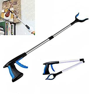 Reach Tool Pick Up Grabber, Heavy Duty Mobility Long Handle Reaching Aid Gripper Tool, Reacher Grabber, Trash Claw, Litter Picker, Grab Arm Extender for Elderly and Disabled, 32