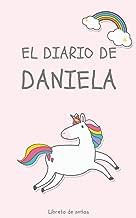 El Diario de Daniela Libreta de Notas: Cuaderno con 110 Páginas | Páginas con Rayas Horizontales y en Blanco | Regalo Perfecto Para Niñas | Desconecta de las Pantallas (Spanish Edition)