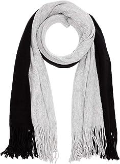 39.911.91.5962 Bufanda, Gris (Grey/Black Stripes 99g1), Talla Única (talla del fabricante: 1) para Mujer