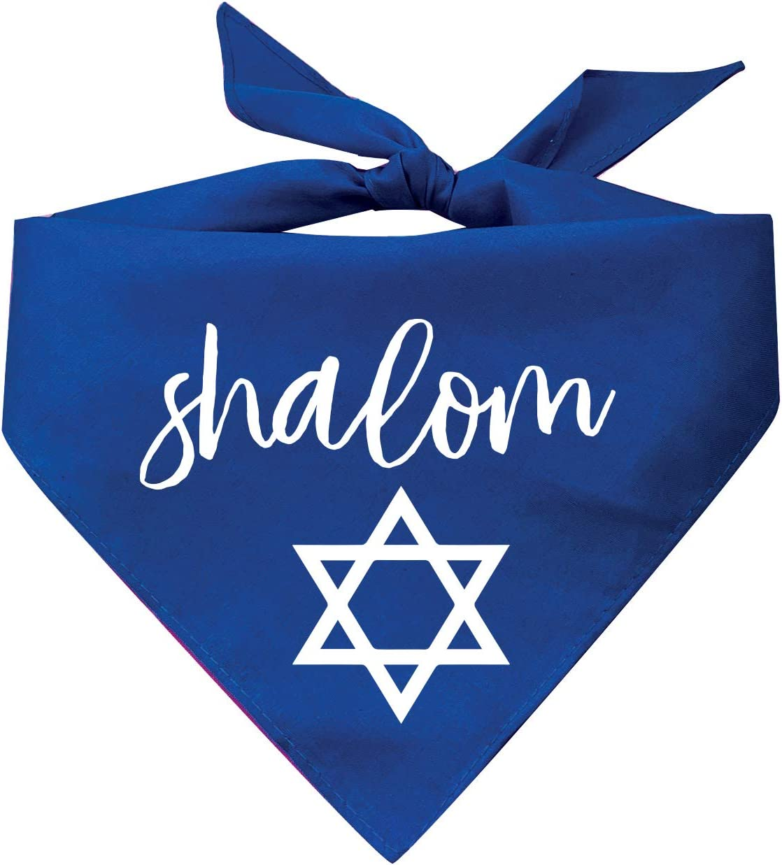 OFFicial Tees Tails Shalom with Jewish Ranking TOP3 Star Color Bandana Dog Assorted