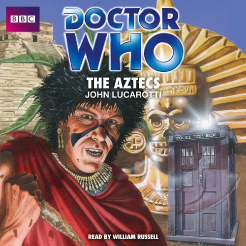 Doctor Who: The Aztecs audiobook cover art