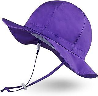 Ami&Li tots uniseks dziecko regulowany szeroki daszek ochrona przed słońcem UPF 50 dziewczynka chłopiec czapka przeciwsłon...