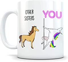 Sister Gifts from Sister - SentimentalGifts for Sister from Brother - AwesomeSister in law Gift - FunnySister Coffee Mu...