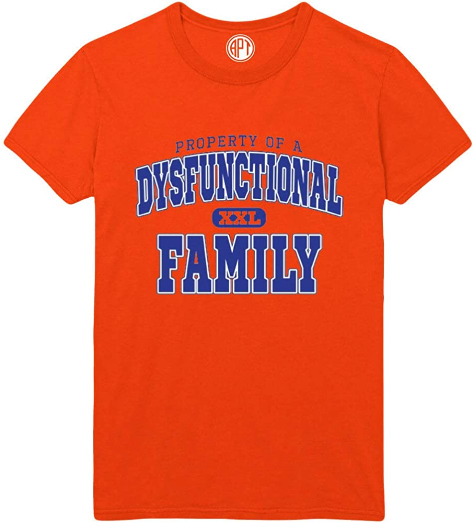 Dysfunctional Family Printed T-Shirt