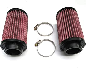 AHSN A Pair of Air Pod Filters Pair Stock Carb 26mm KN for Yamaha Banshee YFZ 350 K&N Style Brand New
