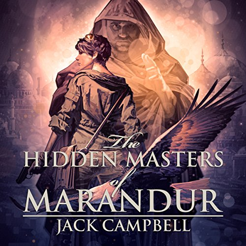 The Hidden Masters of Marandur audiobook cover art