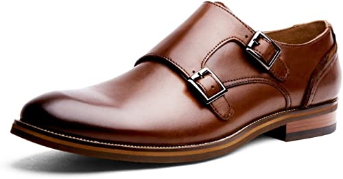 LYZGF zapatos De Cuero De La Boda De La Hebilla del Metal De La Manera Ocasional De Los hombres De Gentleman del Negocio