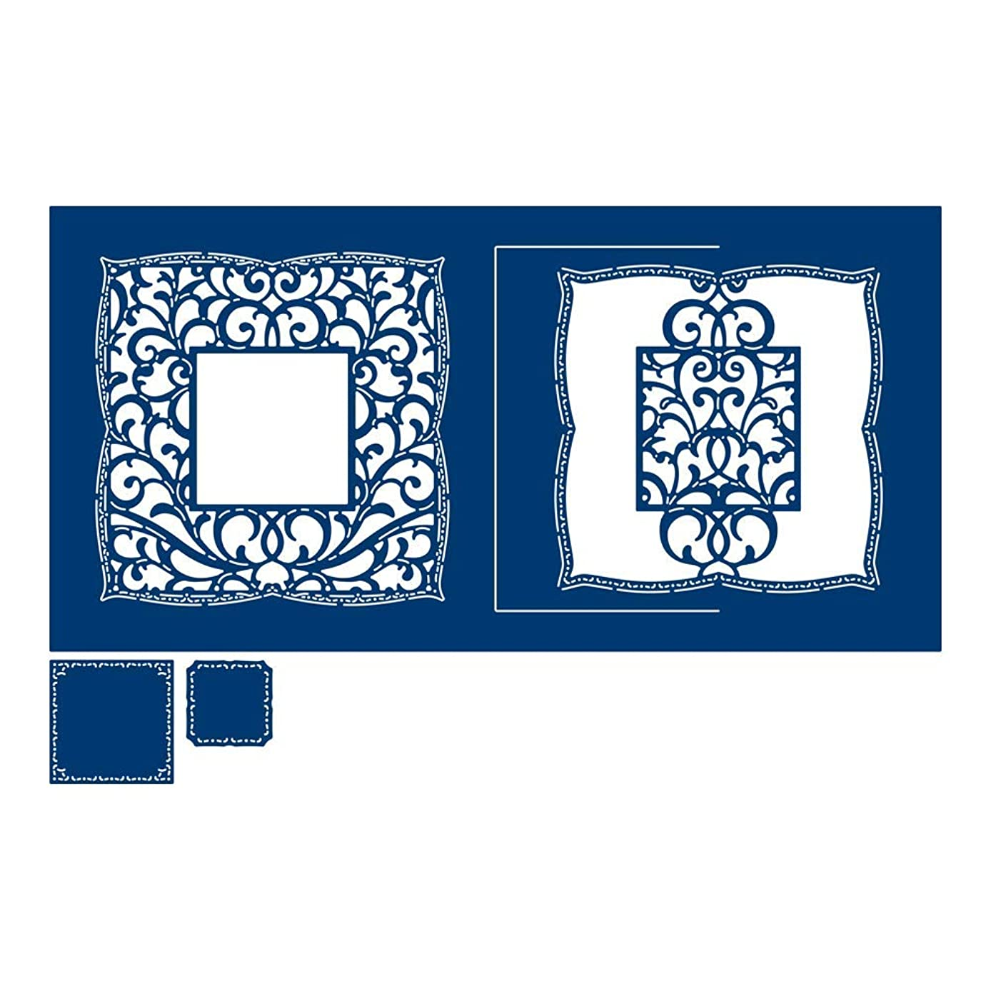 Tattered Lace Symphony Lace Square Die, N Applicable