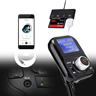 Bluetooth Hands-Free Calling Radio Player, FM Player, Support HFP/HSP, MP3 Player, Digital Player, for Car,