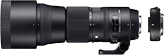 SIGMA ZB955 - Objetivo SIGMA 150-600mm F5-6.3 Contemporary +Tele CONVER.TC-1401 para Nikon, Color Negro