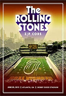 Poster - Rolling Stones - Zip Code Tour 2015 - Atlanta