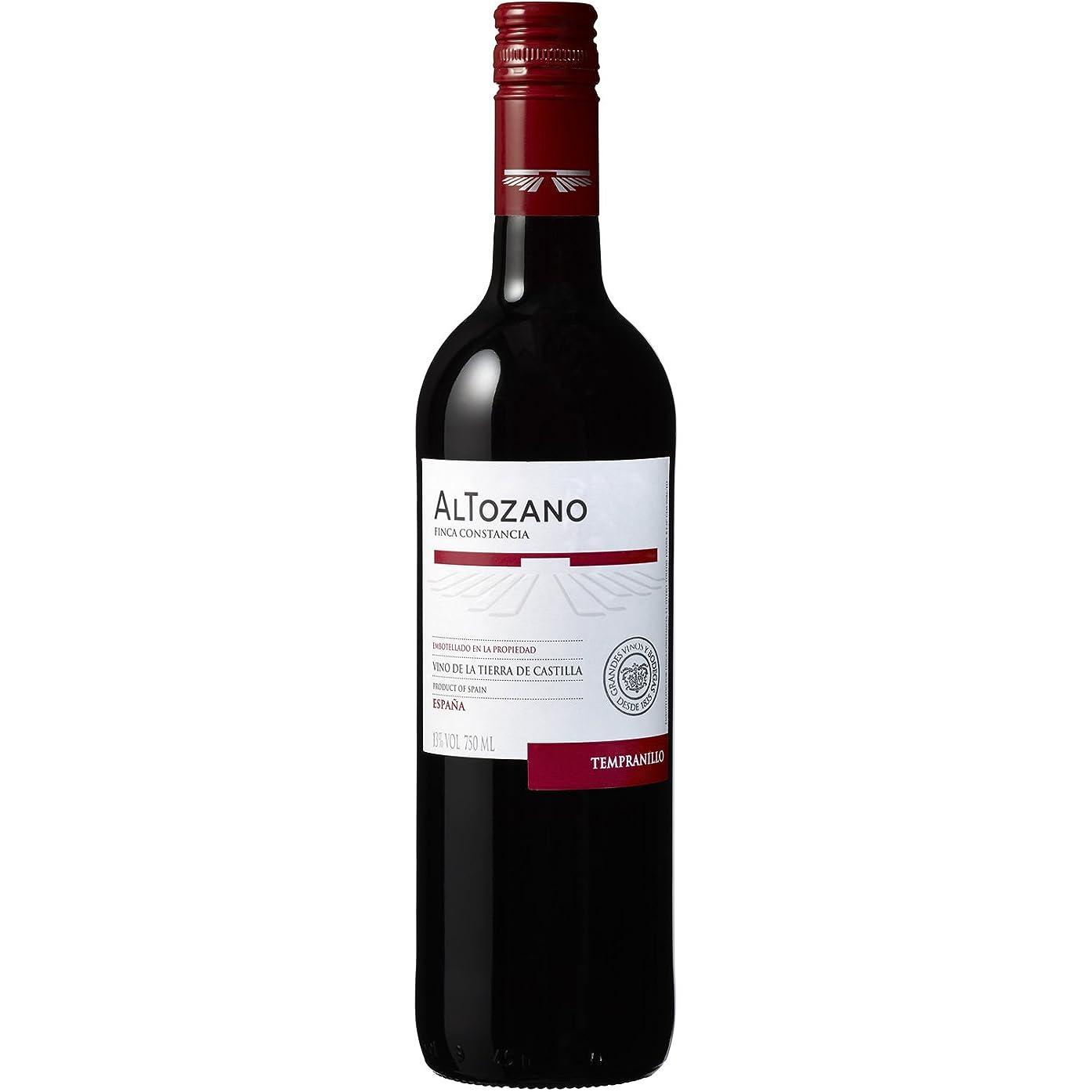 応援する深くシャンパンアルトザーノ テンプラニーリョ [ 赤ワイン ミディアムフルボディ スペイン 750ml ]
