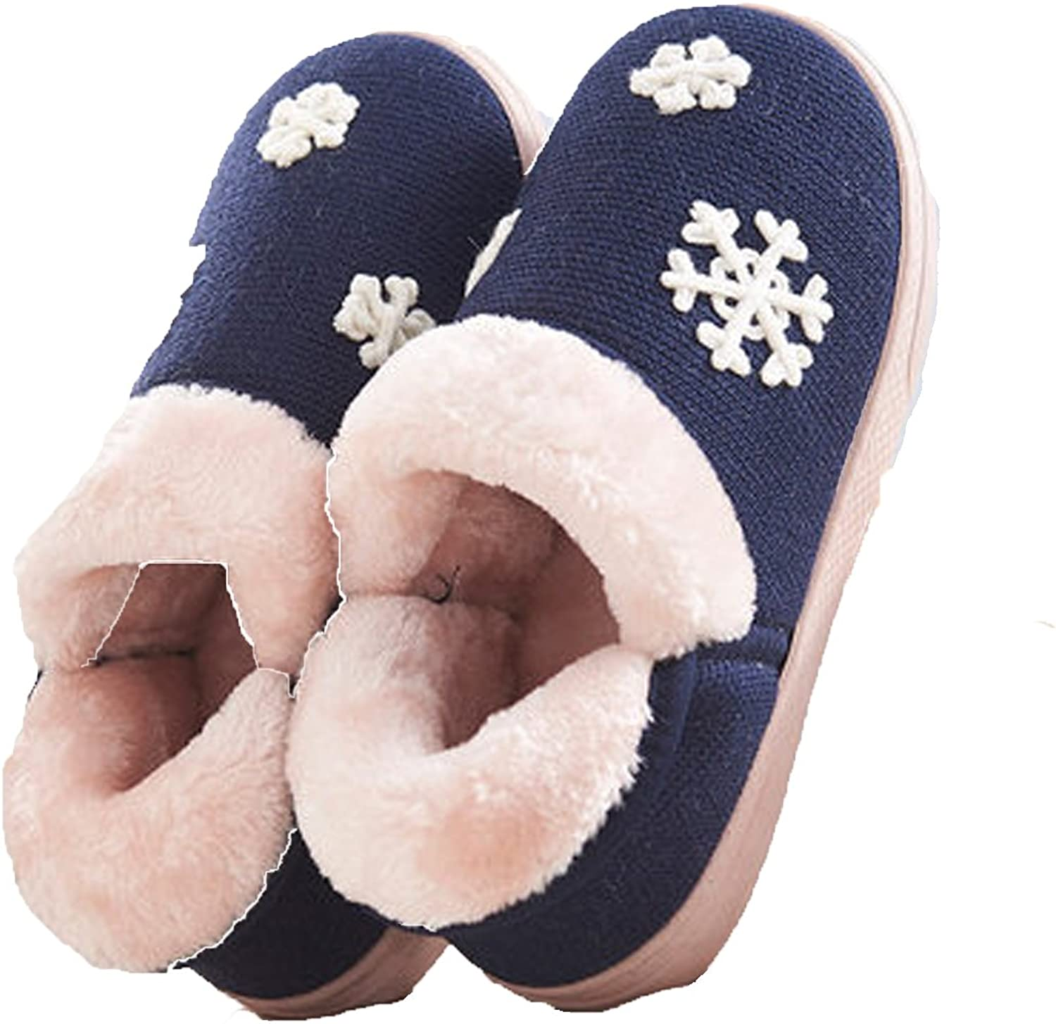 MENG SHENG Winter Cotton Non-Slip Mao Mao shoes Cute Indoor Home