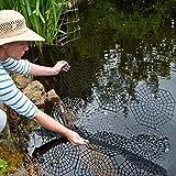 Kinzo Teichschutz-Gitter Set Gartenteich-Schutz Reiher-Schutzgitter Teichnetz