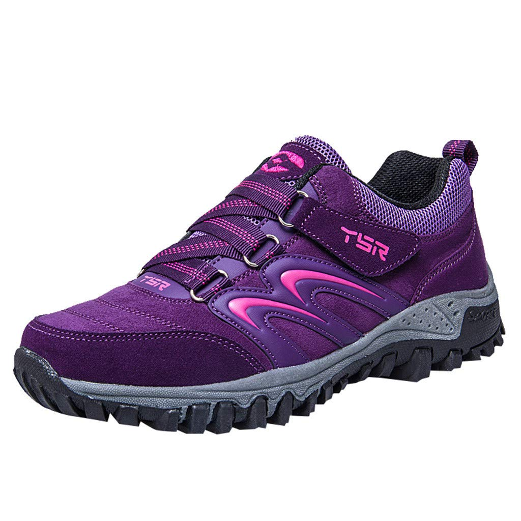 Zapatillas para Mujer, Zapatos de Senderismo para Hombre Zapatos de High Cut Trekking Ocio al Aire Libre y Deportes Zapatillas de Running Trekking de Escalada Zapatos de Montaña Mujer: Amazon.es: Jardín