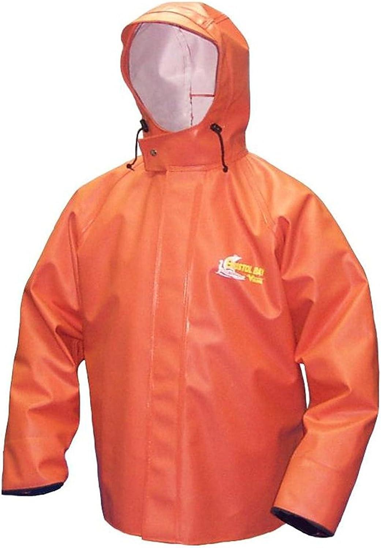 VIKING Men's Bristol Bay Heavy Duty PVC JKT Orange