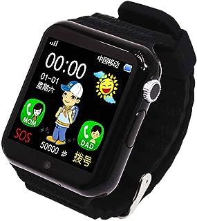 yankai Reloj Inteligente para Niños,Reloj De Llamada,Resistente Al Agua, Cerca Electrónica Inteligente, Monitorización del Sueño, Se Puede Insertar La Tarjeta SIM