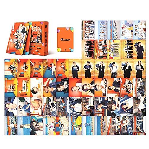 Bangtan Boys Lomo Cards 55PCS Butter New Album Photo Cards Merchandising of Postcards...