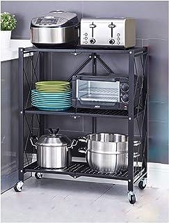 KOKOF Rangement et Organisation de la Cuisine Grilles de Cuisine Pliables sans Installation Grilles de Rangement pour appa...