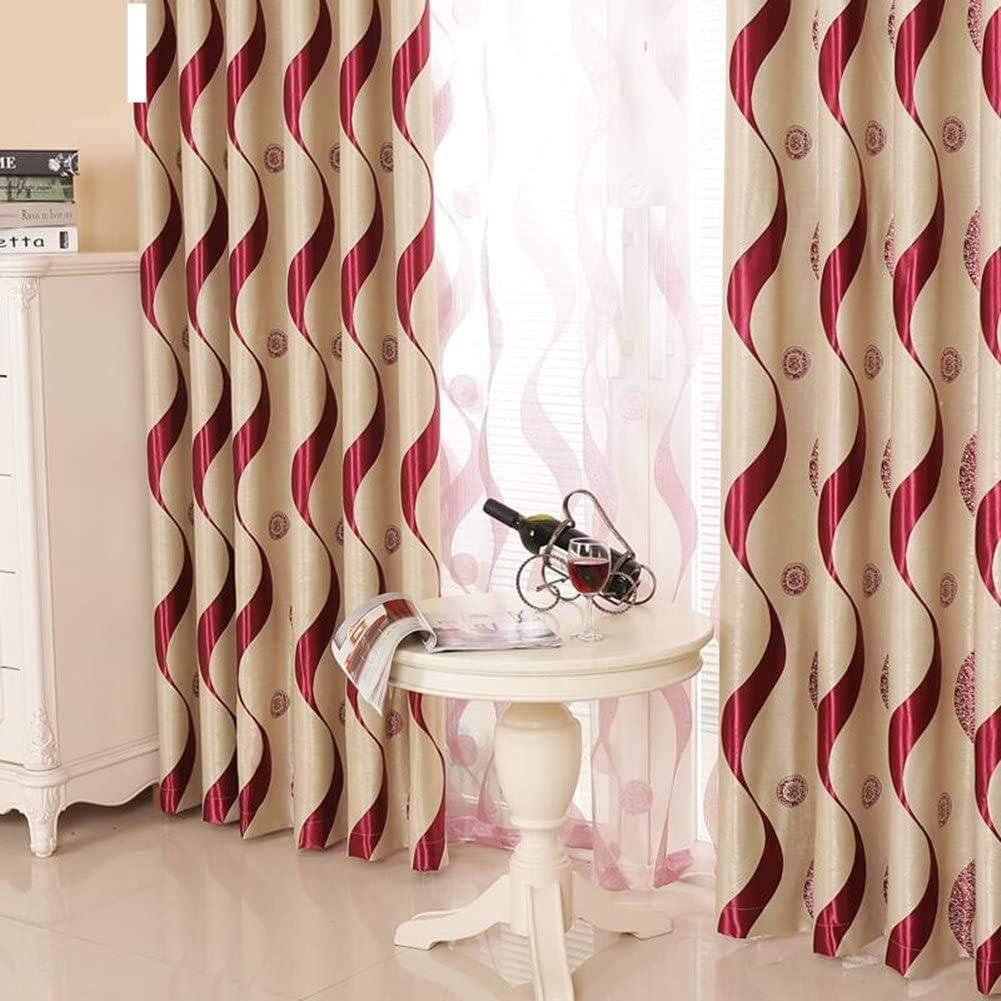 European Style Living Room Luxur Darkening Striped Max 80% OFF Luxury Curtains