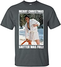 Cousin Eddie Merry Christmas Shitters Full National Christmas Vacation Funny Unisex T-Shirt