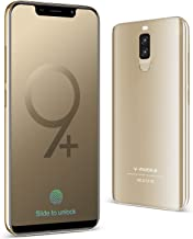 Unlocked Cell Phones Dual SIM 5.85 inch Android 8.1 RAM 3GB/ROM 32 GB Unlocked Smartphone Compatible with ATT, T-Mobile, Cricket, Metro PCS Other GSM Carriers (Gold, 3 GB RAM+ 32 GB Storage)
