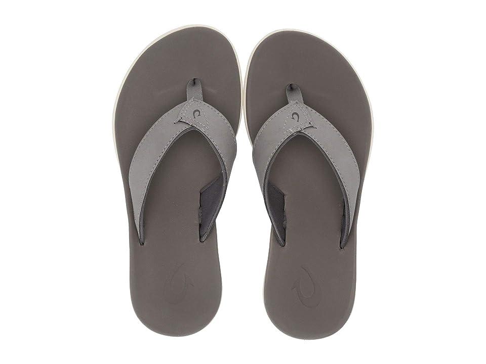 OluKai Kids Niau  Shoes (Toddler/Little Kid/Big Kid) (Fog/Fog) Boys Shoes