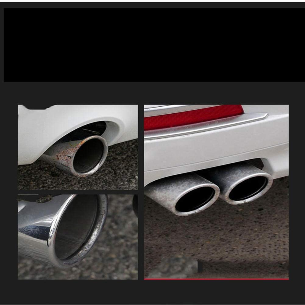 AODHXZ Stainless Car Accessories Stainless Steel Tail Throat of Automobile Exhaust Pipe,for BMW F30 F35 320i 318i 2013-2016