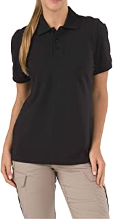 5.11 Tactical Women's Professional Short Sleeve Polo Shirt, 100% Cotton Pique, Style 61166