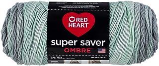 Red Heart Ombre Yarn, Freshmint