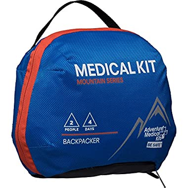 Adventure Medical Kits AMK Mountain Backpacker First Aid Kit Blue One Size