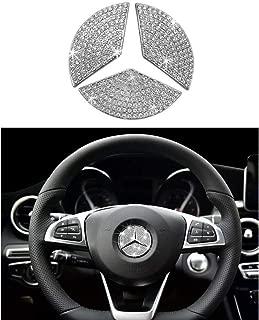 AMG Steering Wheel Emblem Decal Sticker Badge Decoration Logo For Mercedes-Benz 16 models 17 models E200L E300L New E class