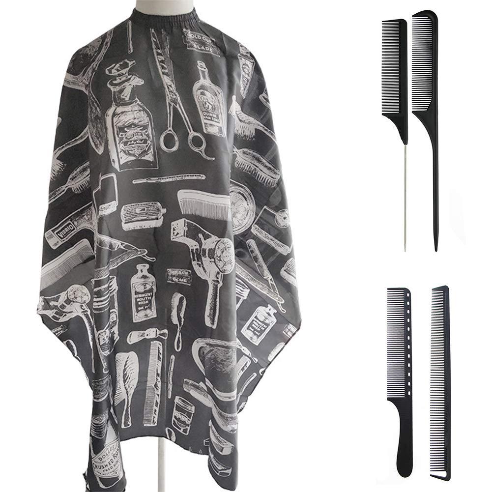 Tucson Mall Barber Cape4 Free shipping / New Pack Carbon Fiber Hair Set Cape Salo Nylon Comb