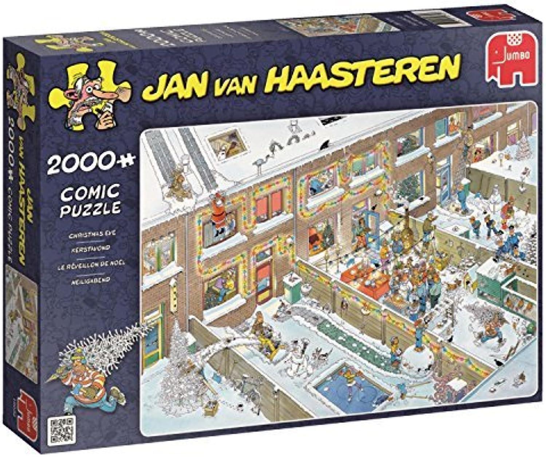 suministramos lo mejor Jumbo Jan van Haasteren Haasteren Haasteren - Christmas Eve 2000 Piece Jigsaw Puzzle by Jan van Haasteren  mejor calidad mejor precio
