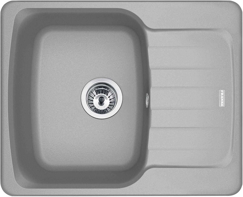 Franke 114.0499.054 Fragranite Kitchen Sink, Stone Grey