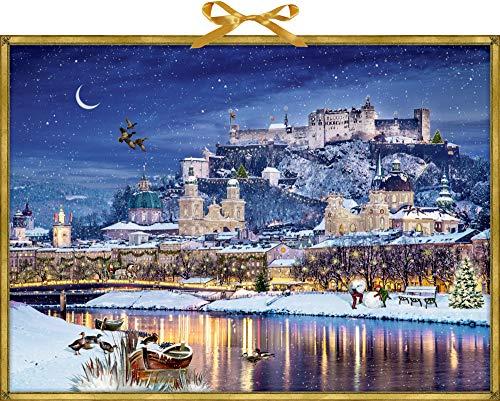 Wandkalender – Winterliches Stadtpanorama
