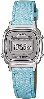 Casio Women's Digital Dial Stainless Steel Band Watch - LA670WL-2ADF