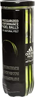 adidas Balls adiTour XP Pala de pádel, Adultos Unisex, Yellow, Talla Única
