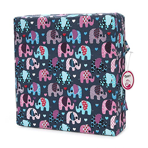 Dismountable Harness Cushion Kid Highten Pad Baby Toddler Infant Dining Chair On The Go Seat Travel Storage Chair Printed