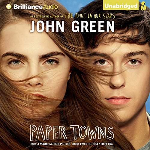 Paper Towns audiobook cover art